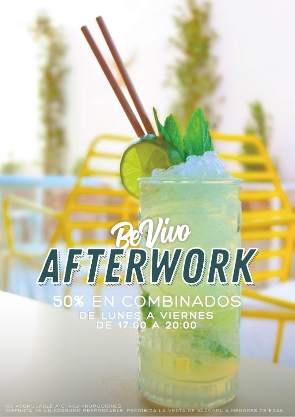 Afterwork en Bevivo al mejor precio